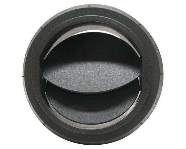 Дефлектор Ø90мм закрыв/поворотный с резьбой
