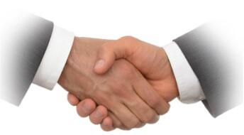 картинка партнеры пожимают руки
